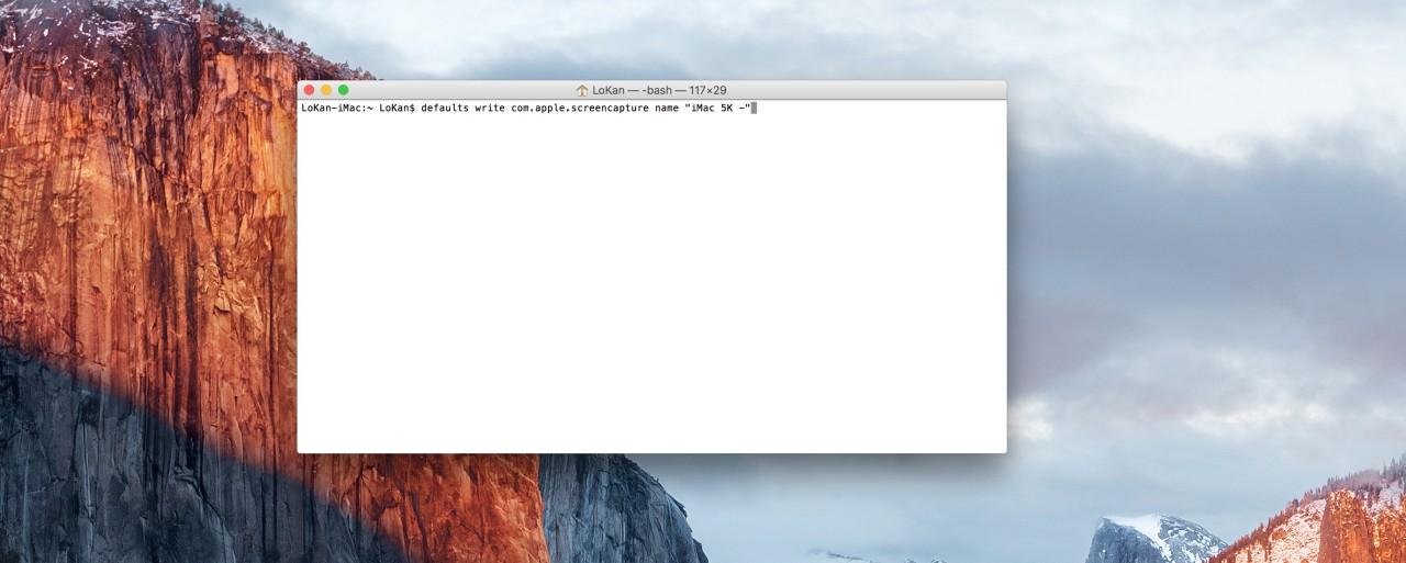 capture écran préfixe nom fichier
