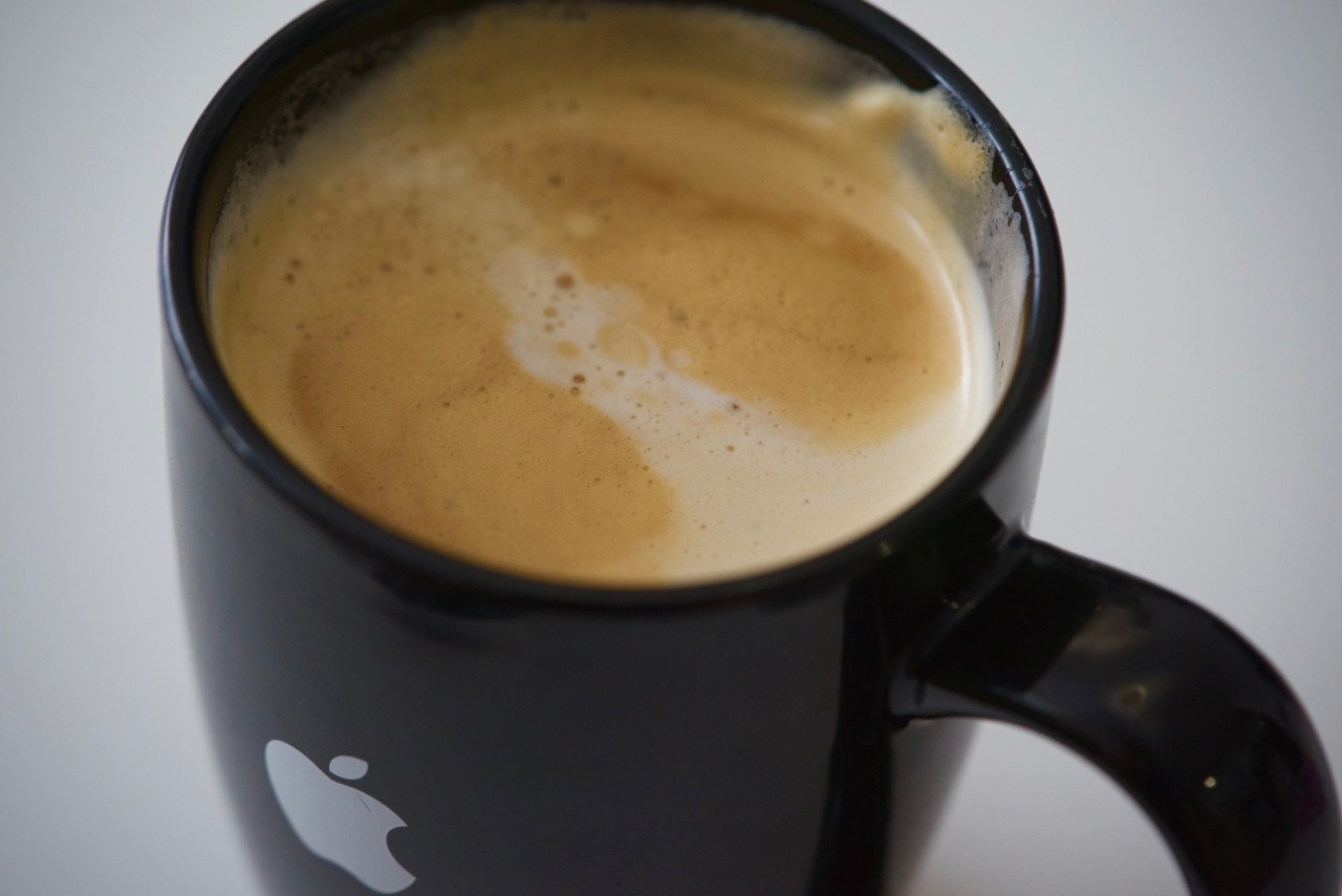 coffee apple mug