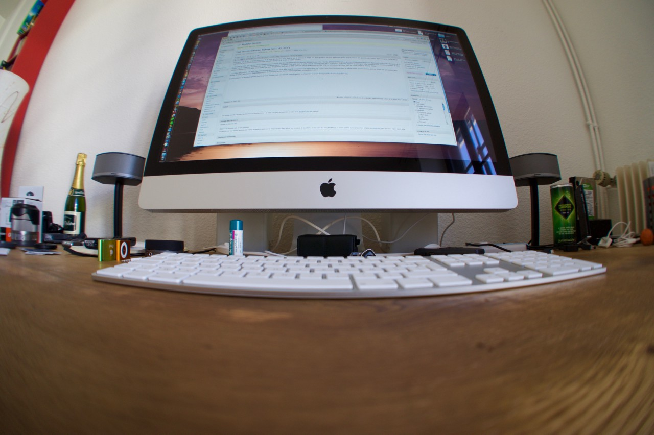 iMac 27 fisheye grenoble