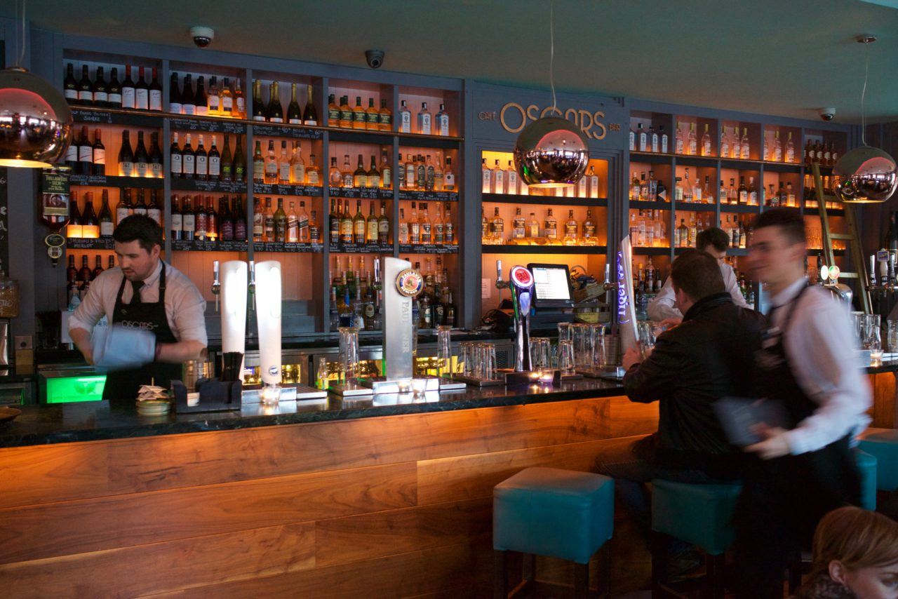 Café oscars bar dublin