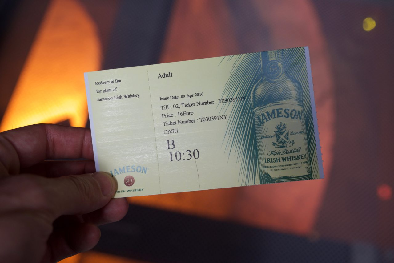 jameson ticket
