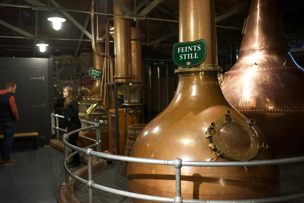 jameson triple distillerie