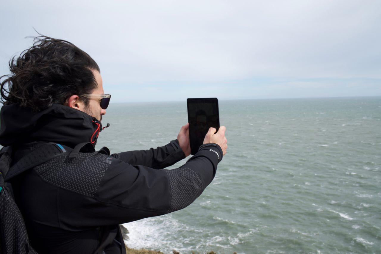 lokan selfie ipad pro howth