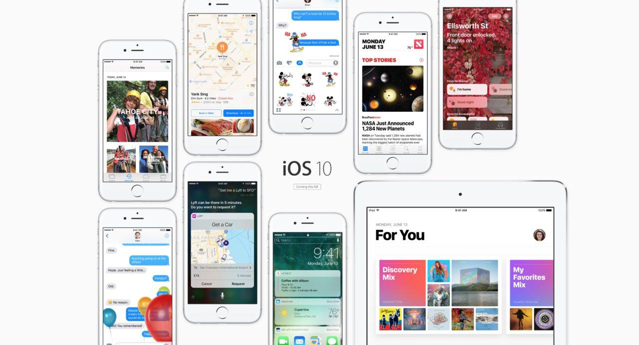 WWDC 16 iOS 10
