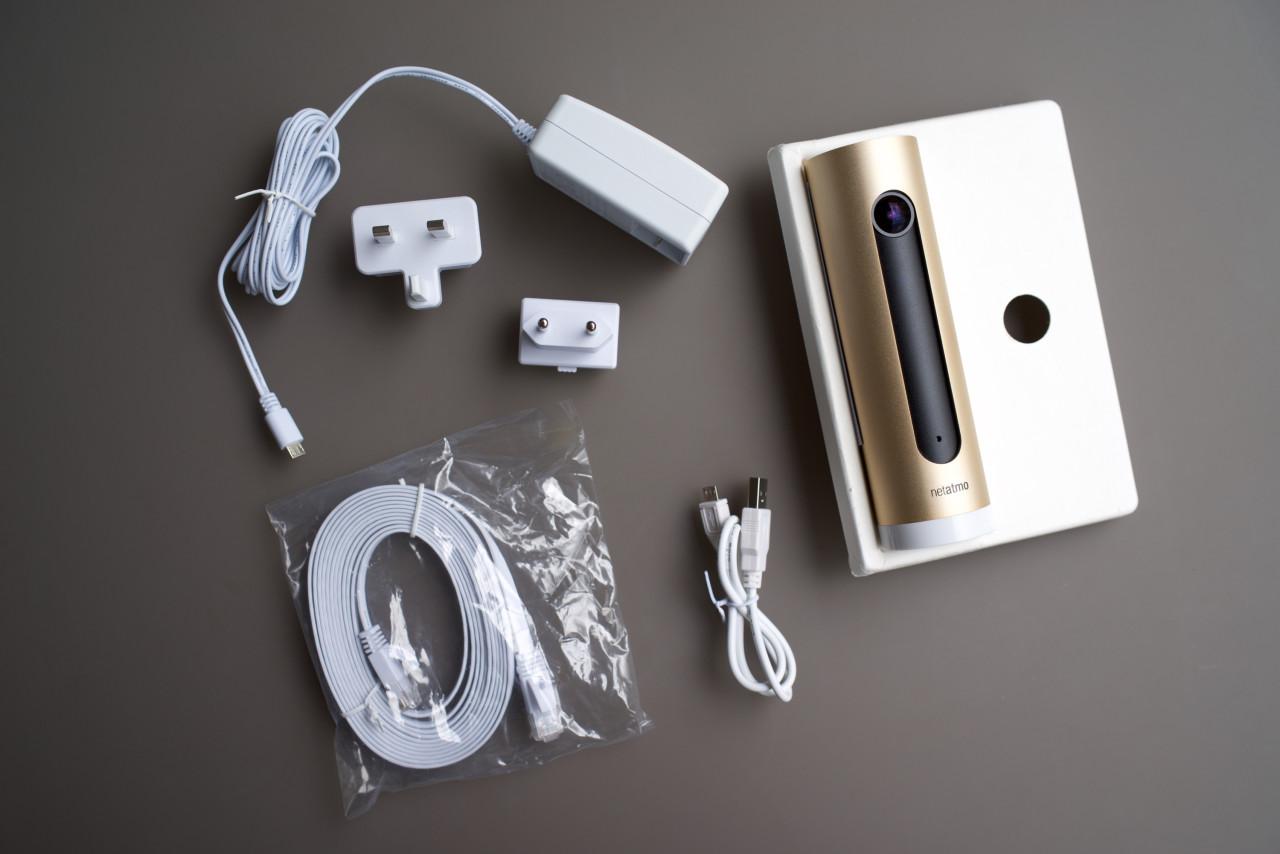 Netatmo Welcome câbles et accessoires