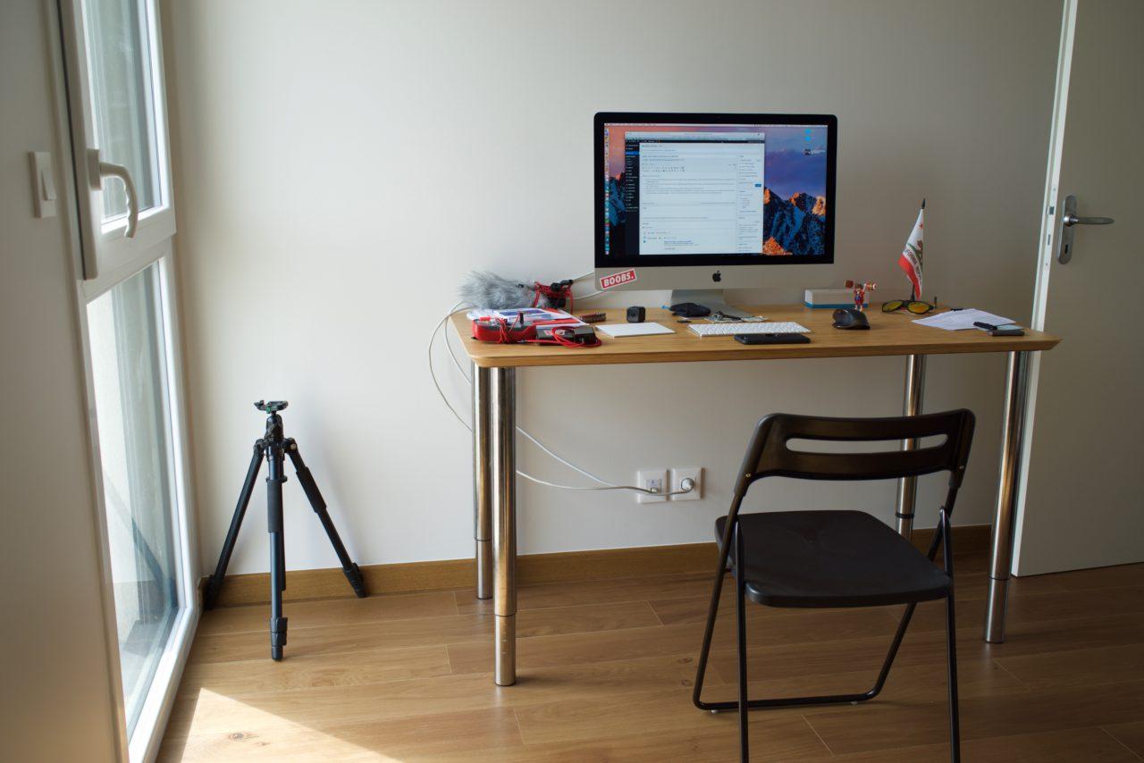 bureau temporaire appartement lokan