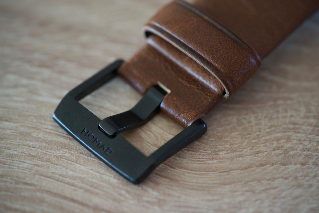 Bracelet cuir boucle acier