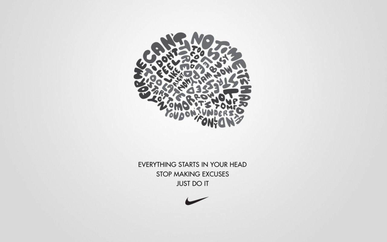 nike excuses brain