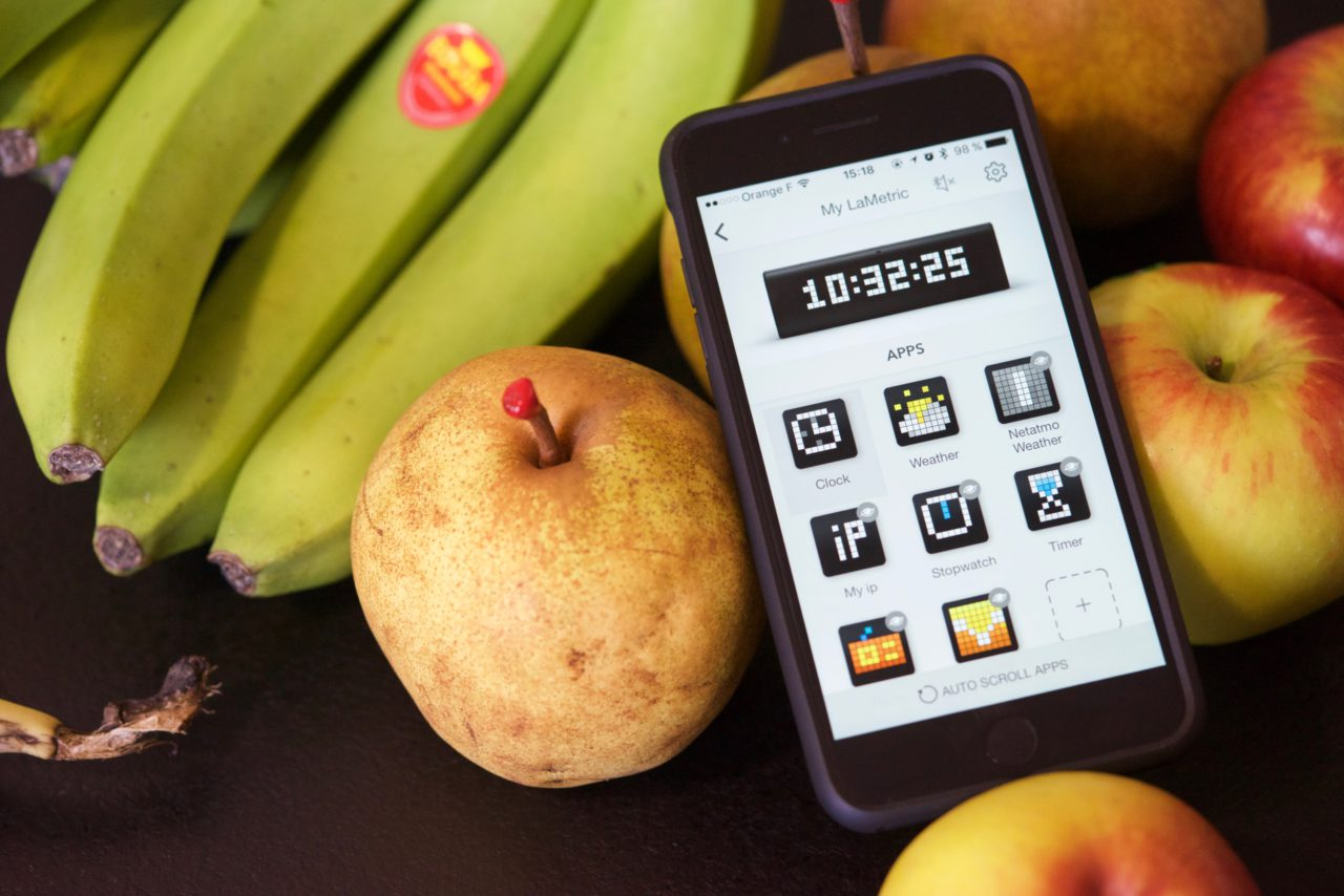 lametric time application iphone