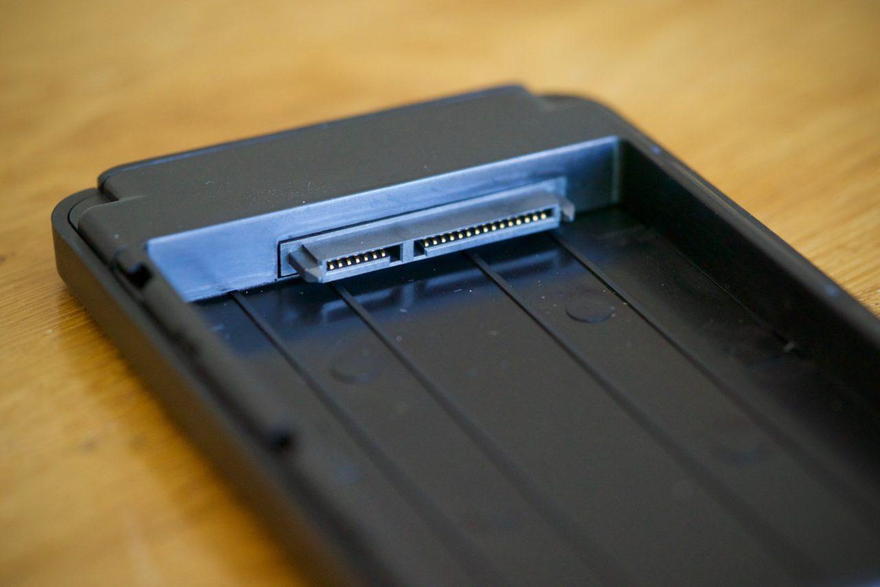 boitier connecteur SATA