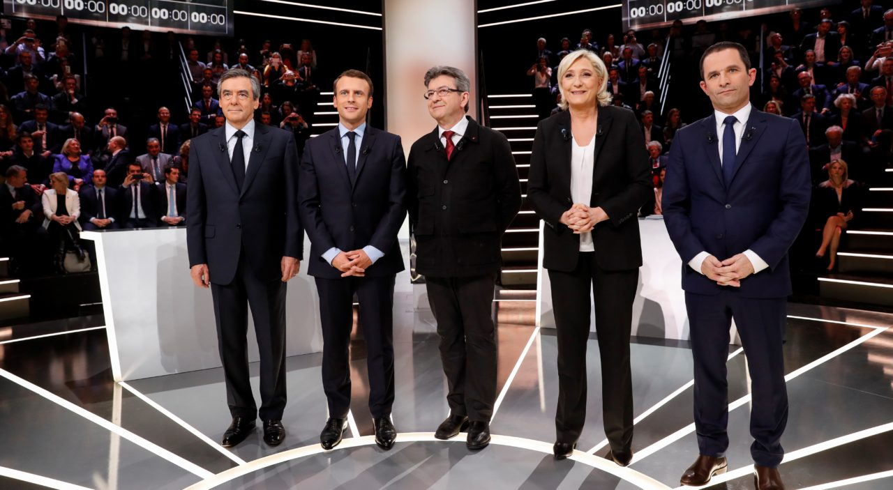 debat five presidentielle 2017