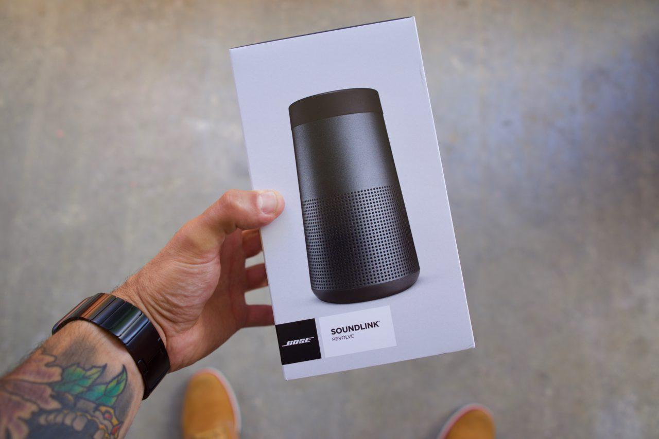 Bose SoundLink Revolve boite