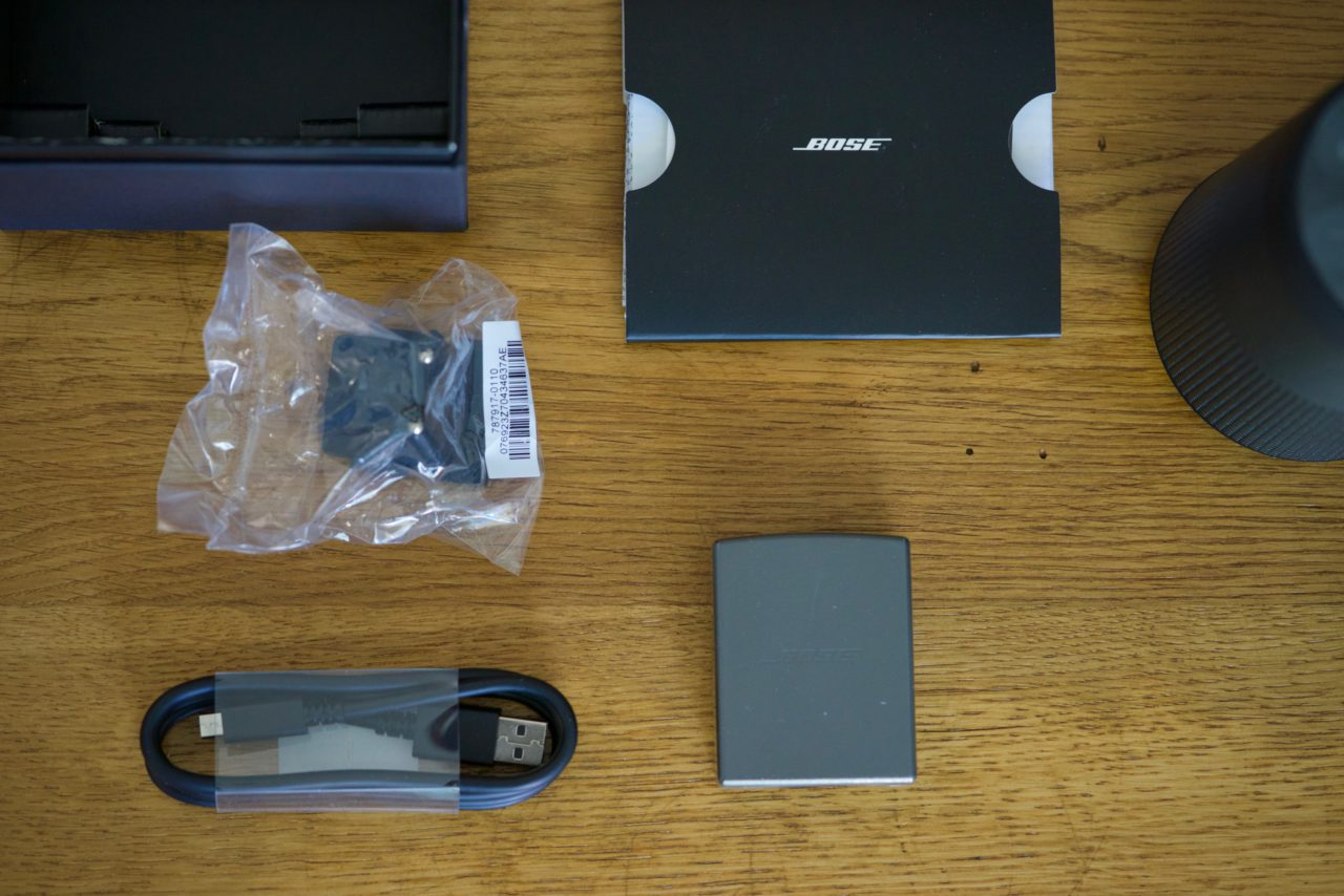 Bose SoundLink Revolve accessoires