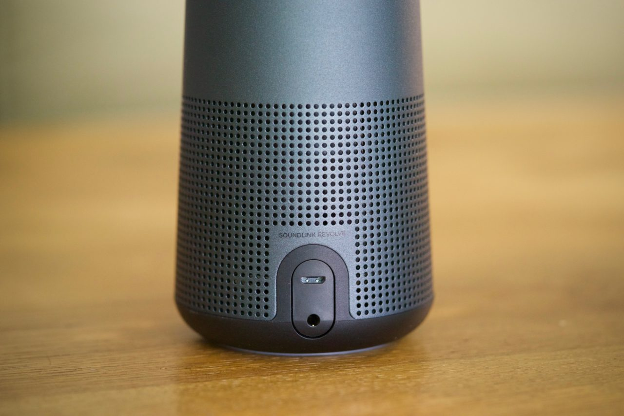 Bose SoundLink Revolve chargement