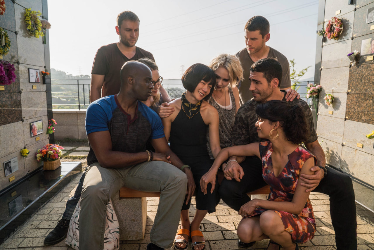 Sense8 Saison 2 group sensate