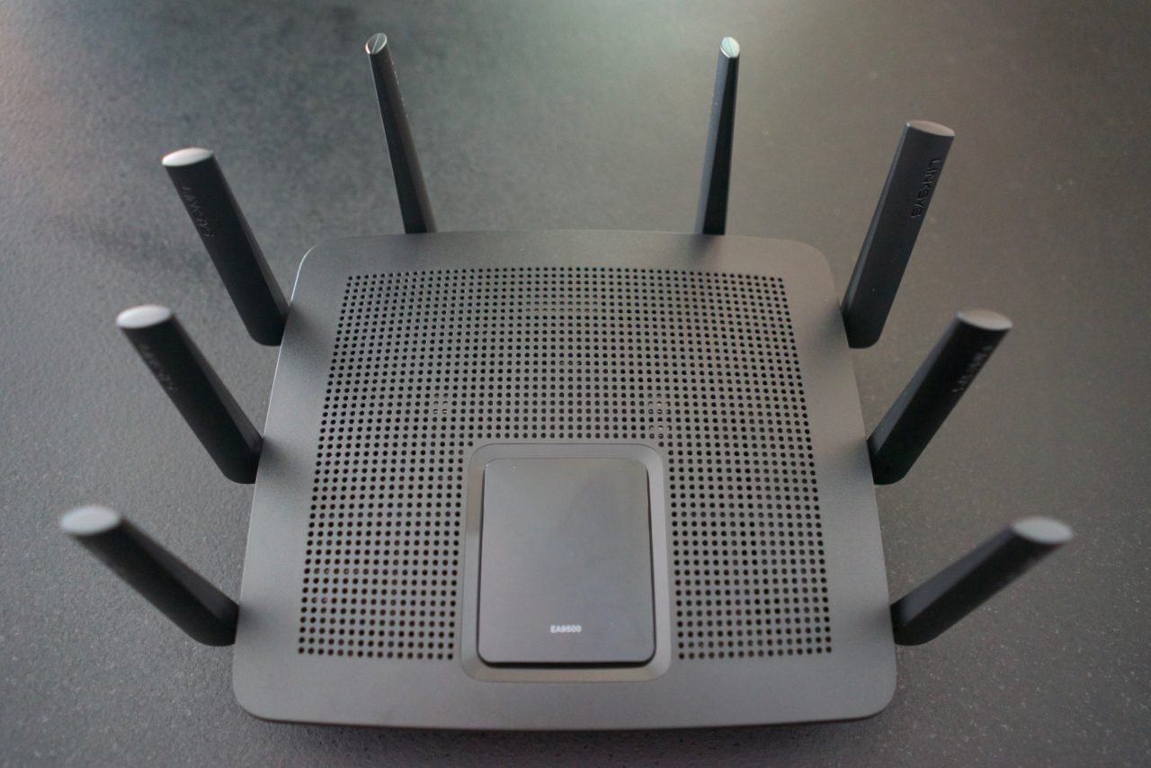 Test Linksys AC5400 EA9500 antennes