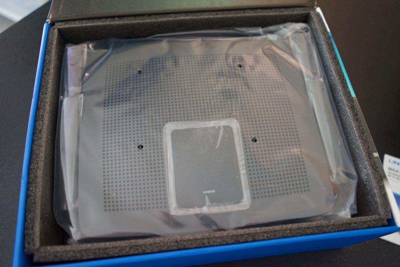 Test Linksys AC5400 EA9500 carton