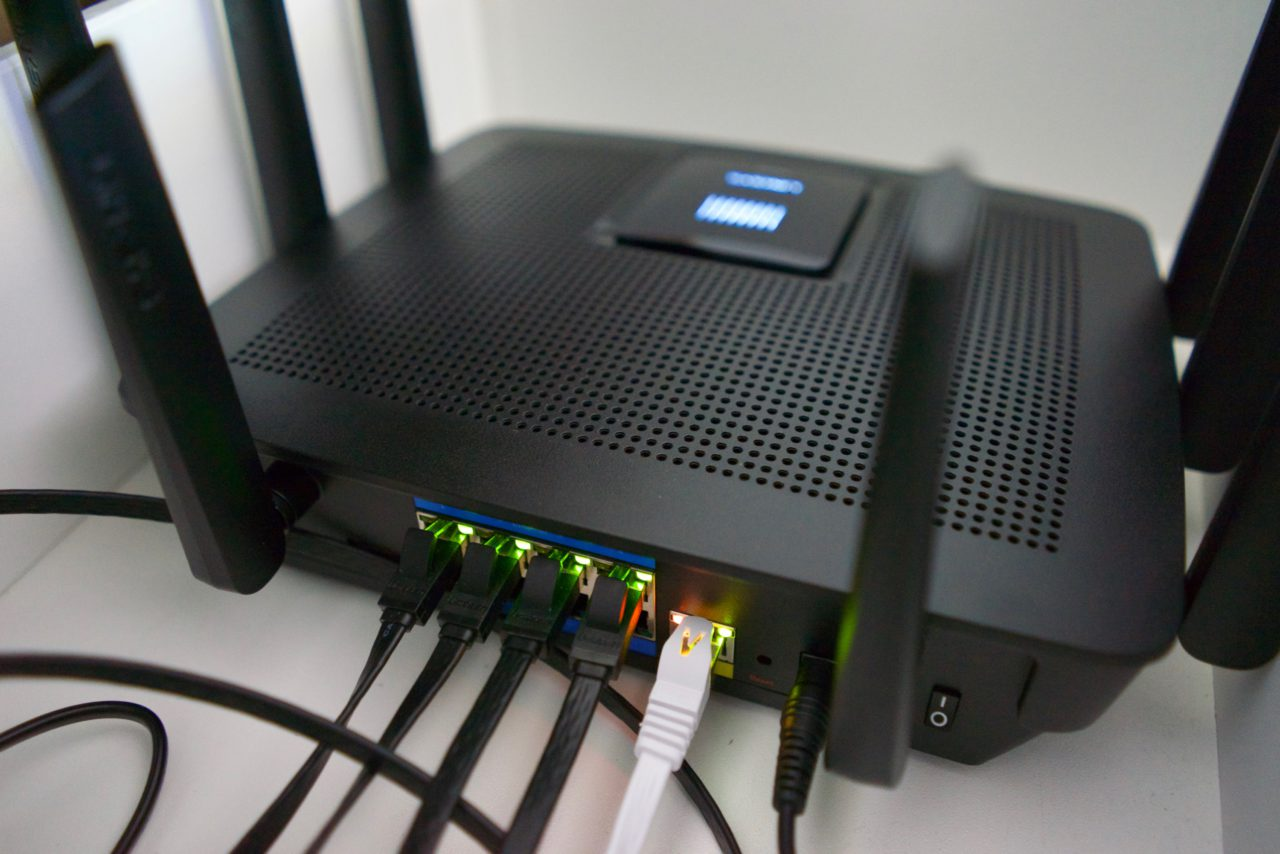 Test Linksys AC5400 EA9500 connecte