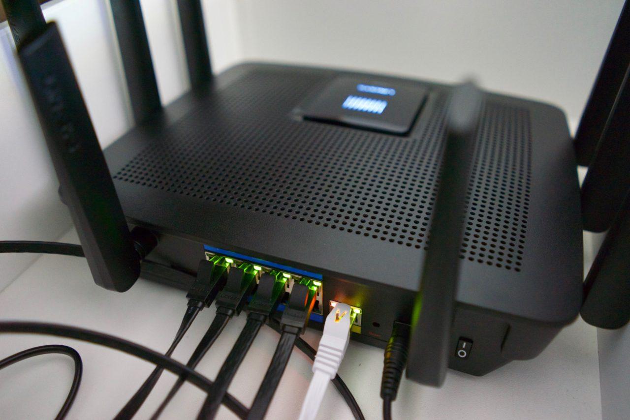 Test Linksys AC5400 EA9500 connecte