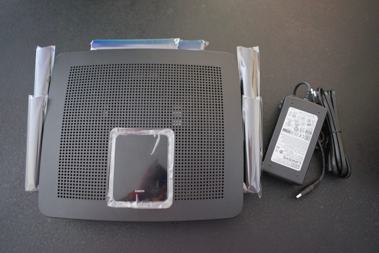 Test Linksys AC5400 EA9500 deballage