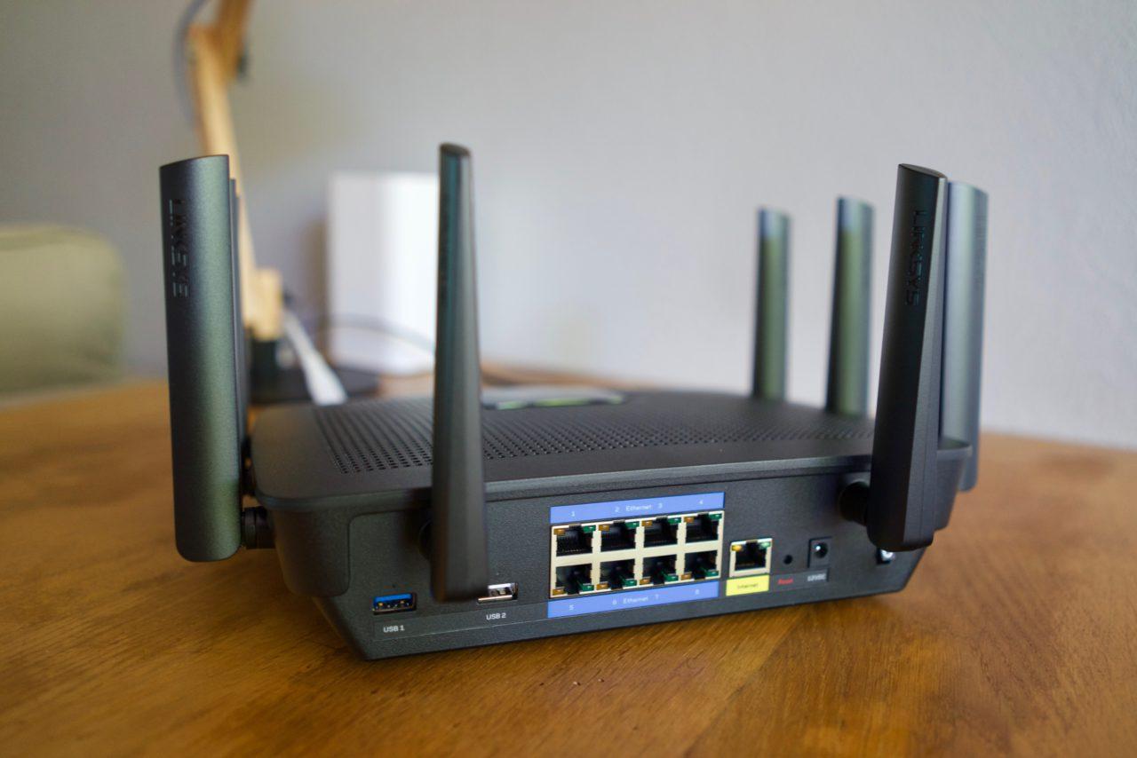 Test Linksys AC5400 EA9500 routeur gigabit