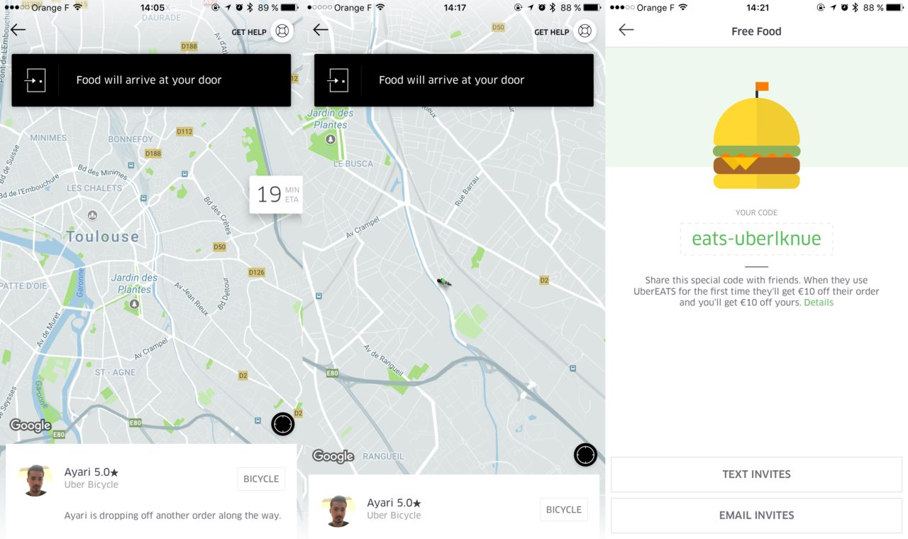 UberEATS Toulouse LoKan