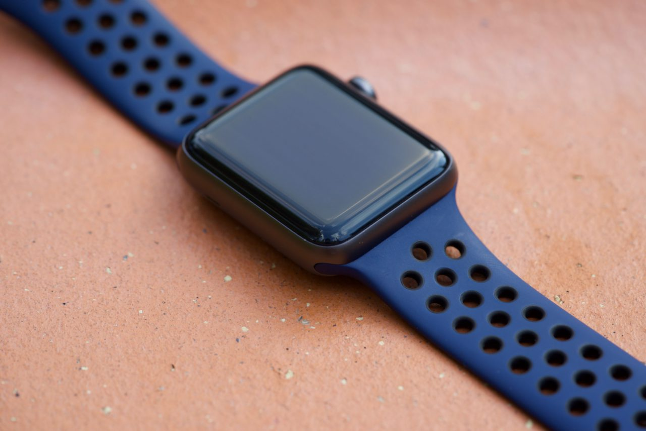 nike+ obsidienne watch noire