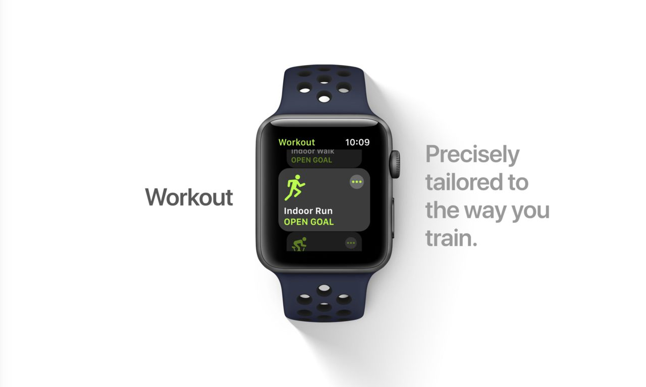 watchOS 4 workout