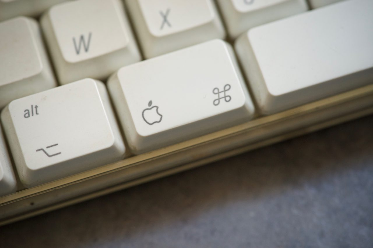 touche pomme clavier apple