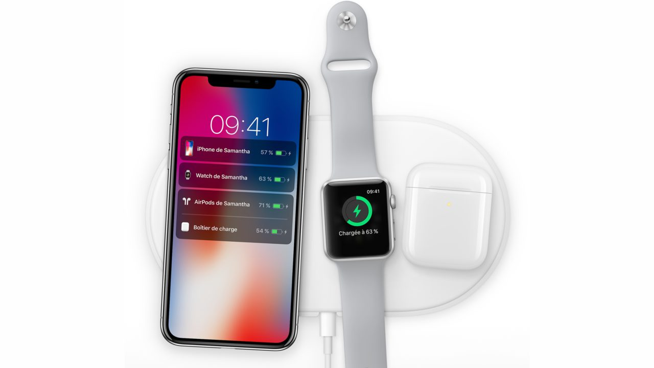 airpower station sans fil iPhone X