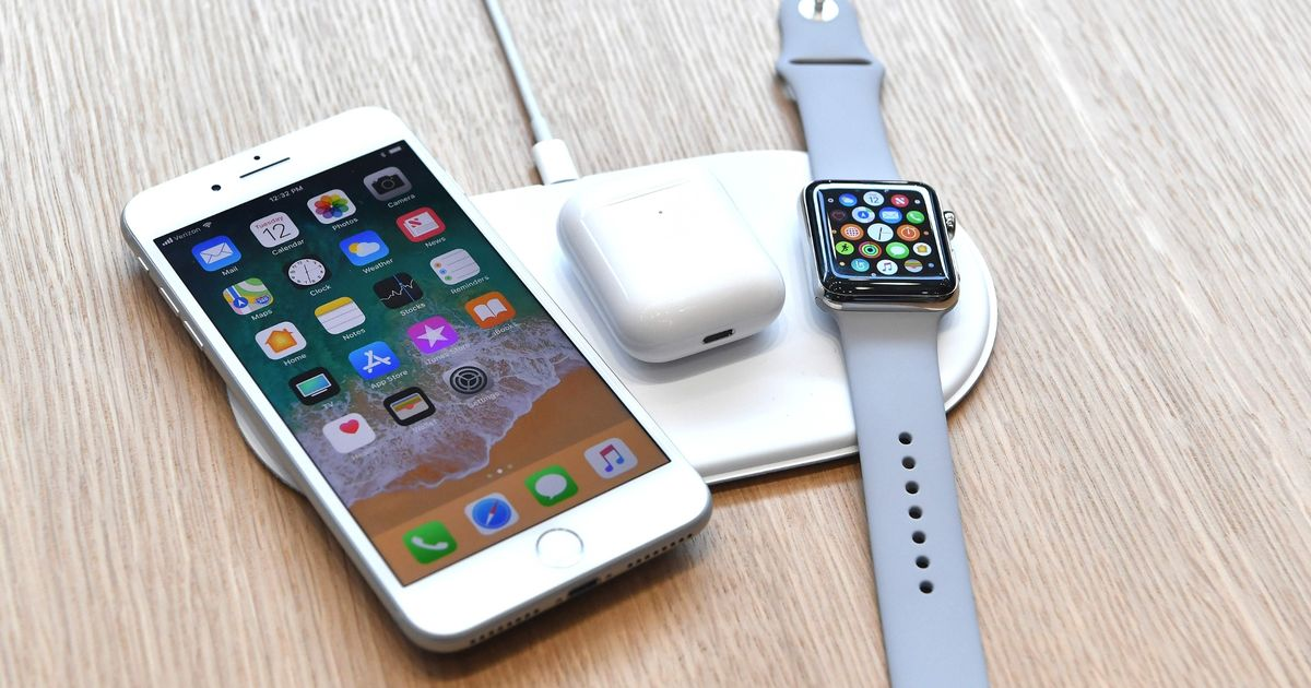 iphone induction chargeur AirPower