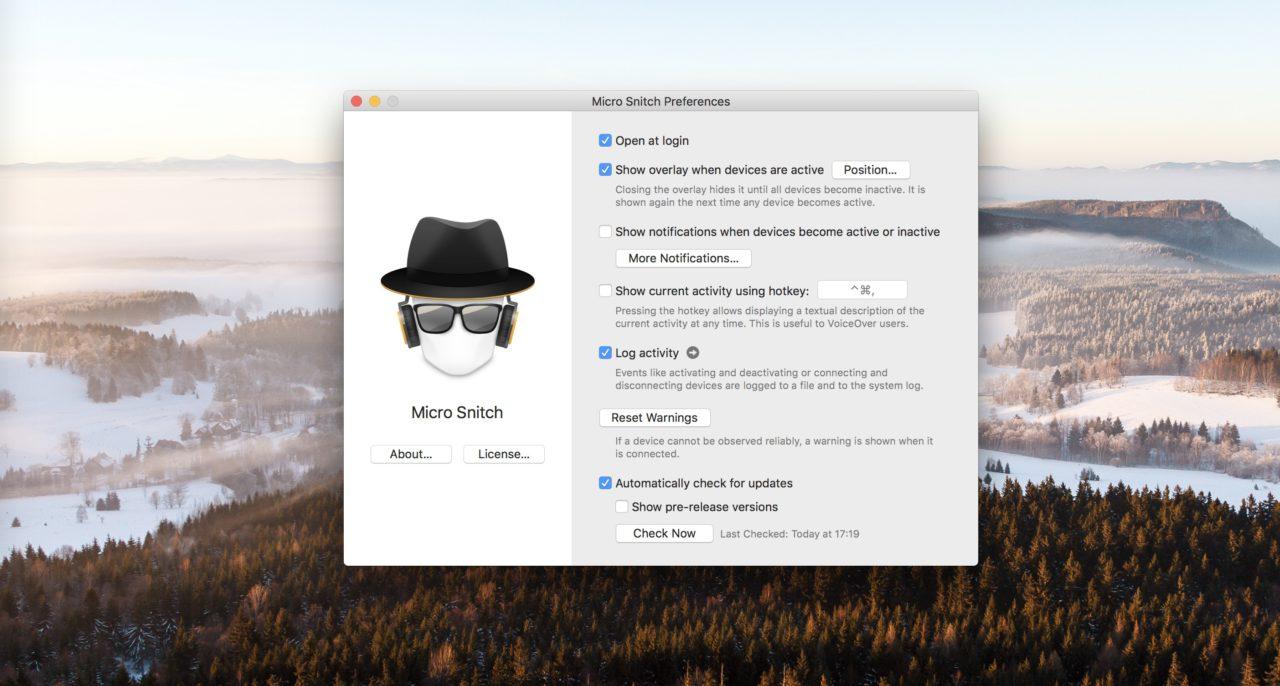 micro snitch mac