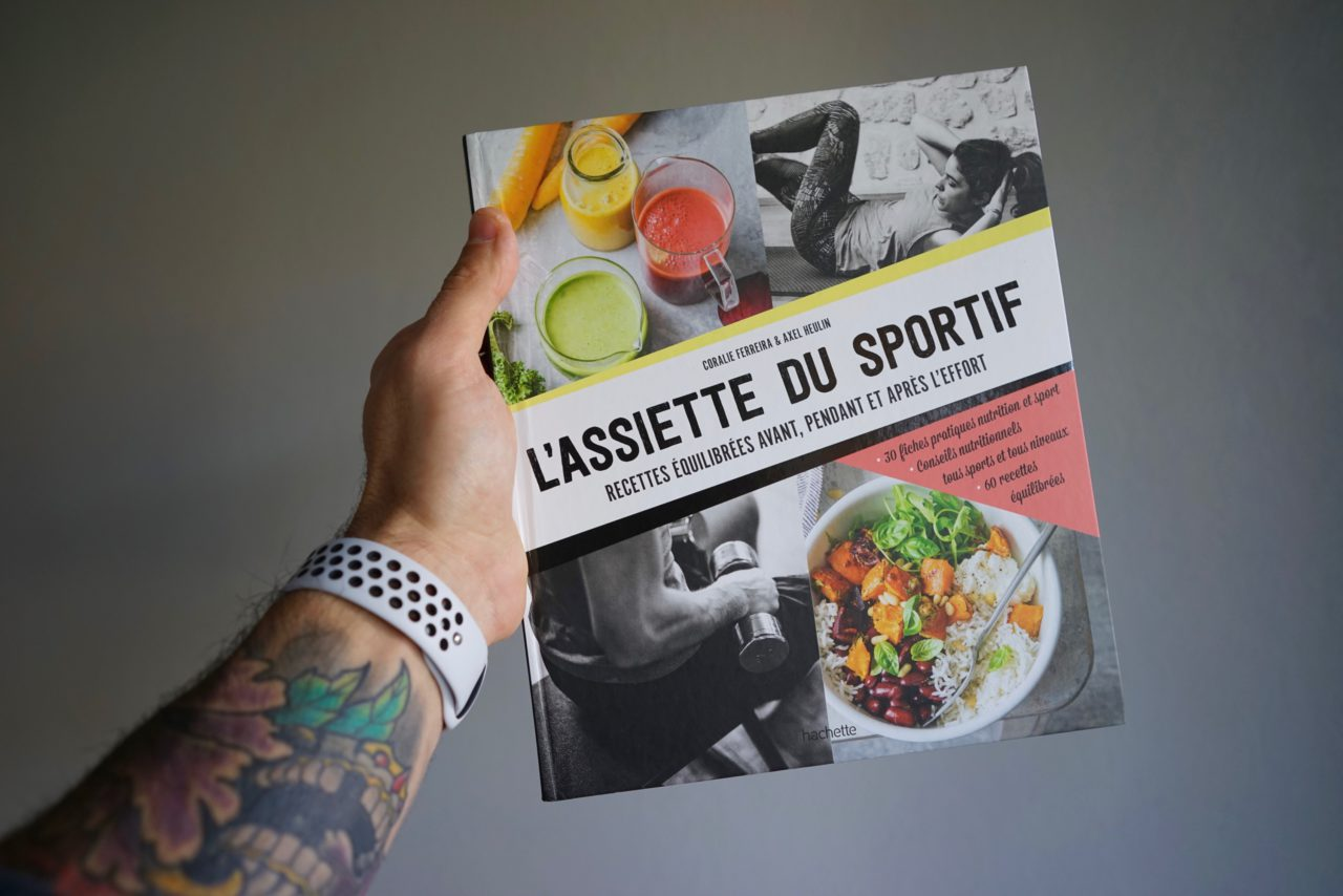 assiette sportif livre