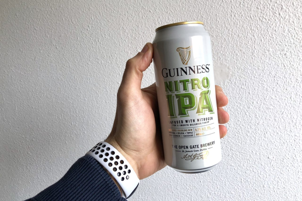 guinness nitro IPA iPhone X