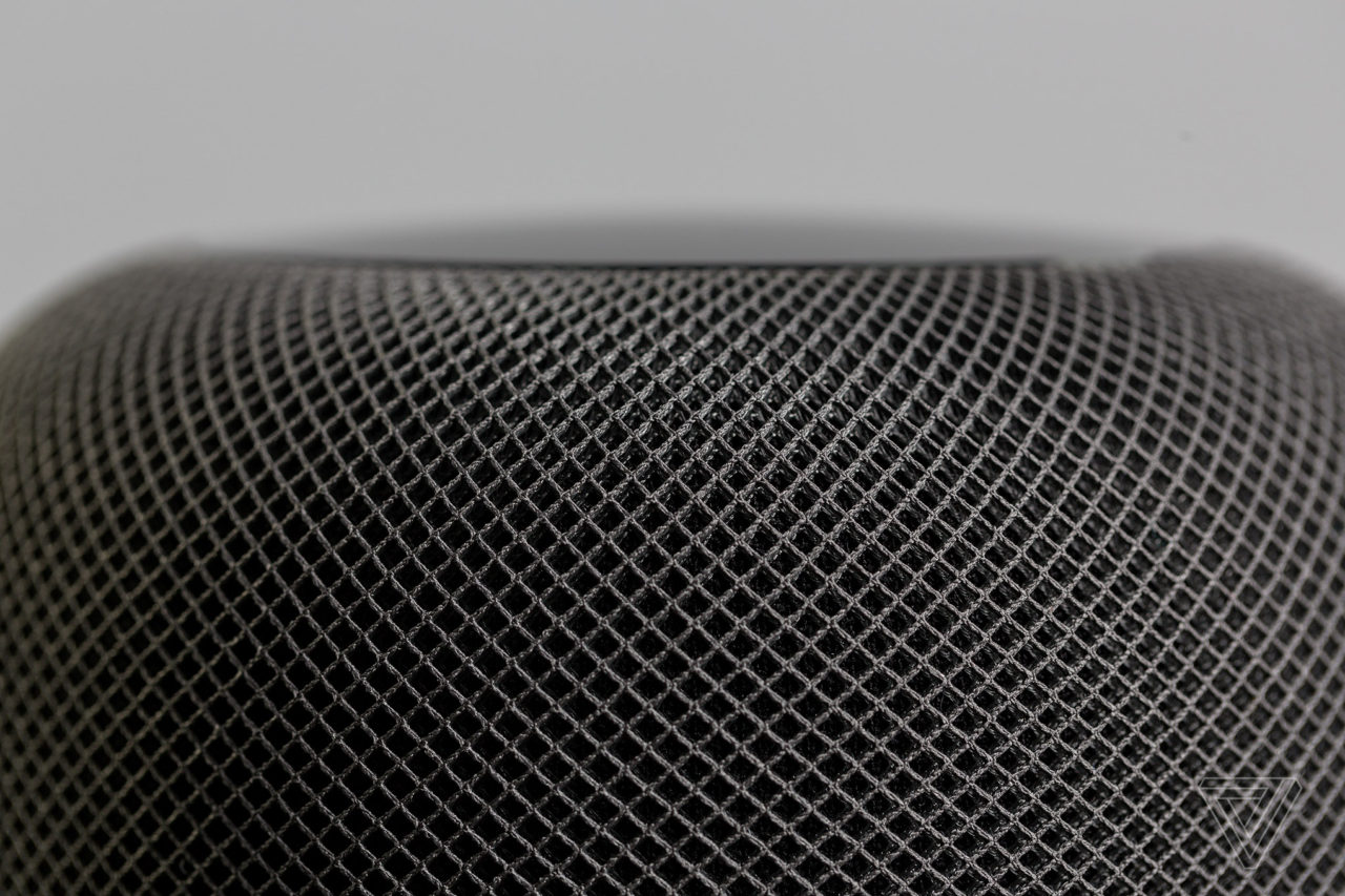 homepod top mesh