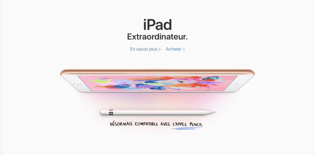 iPad extraordinateur