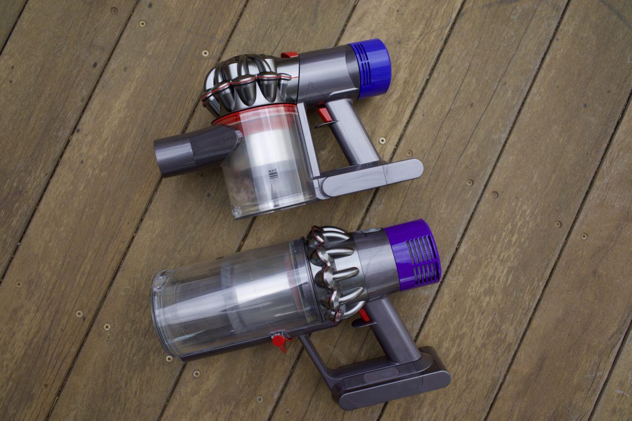 Dyson V10 vs Dyson V8 cote