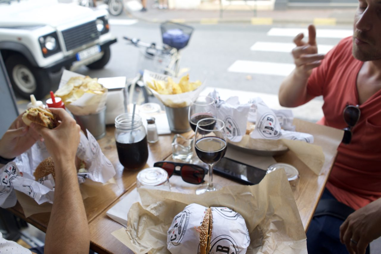 comptoir a burger biarritz