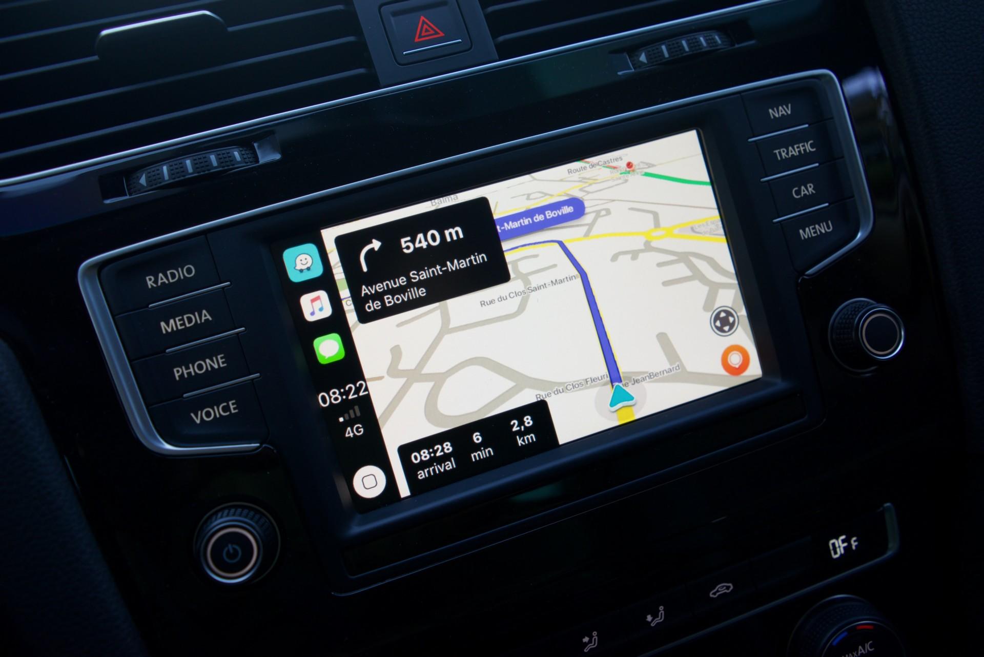 Waze est disponible sur Apple CarPlay !