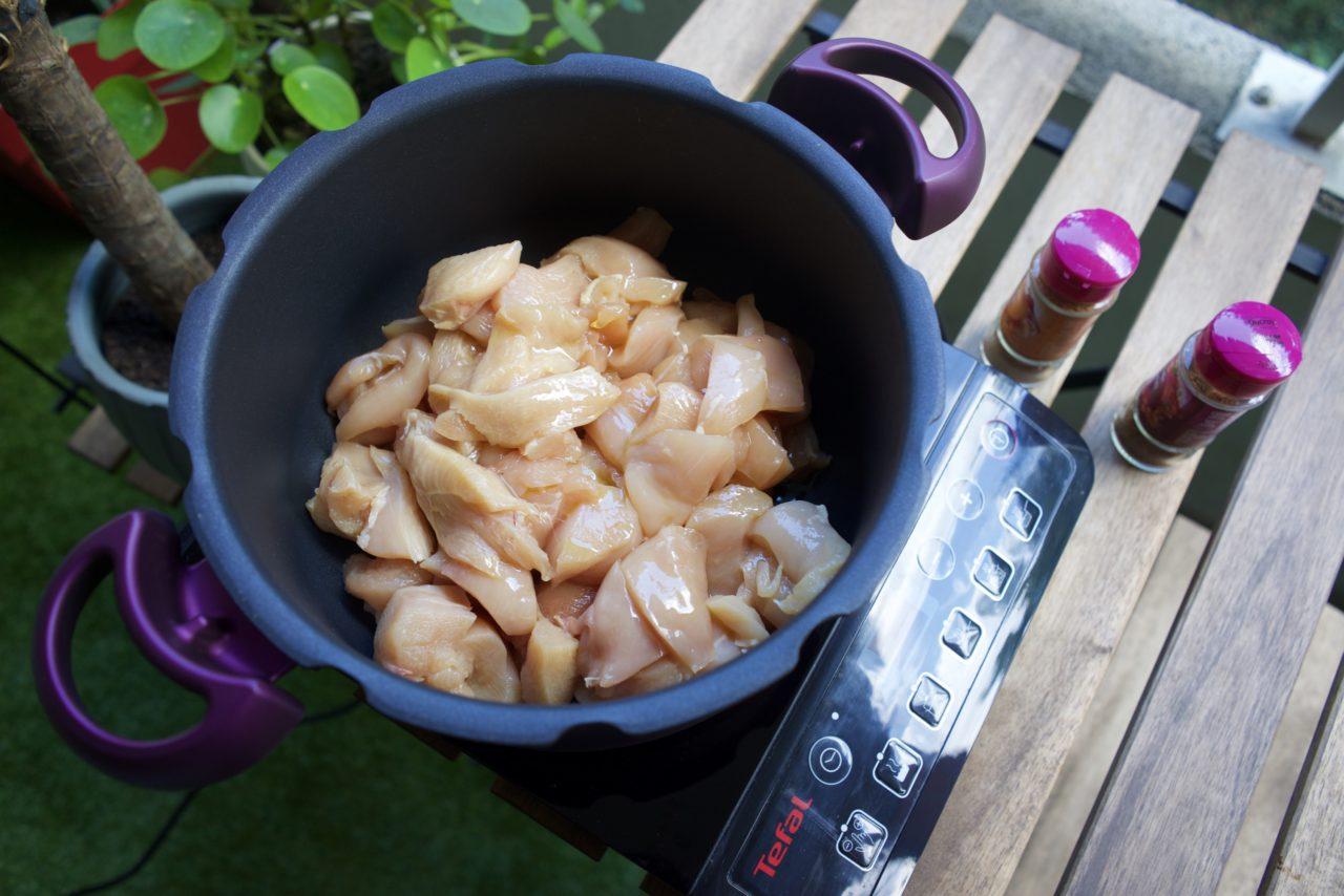 filtes de poulet cocotte