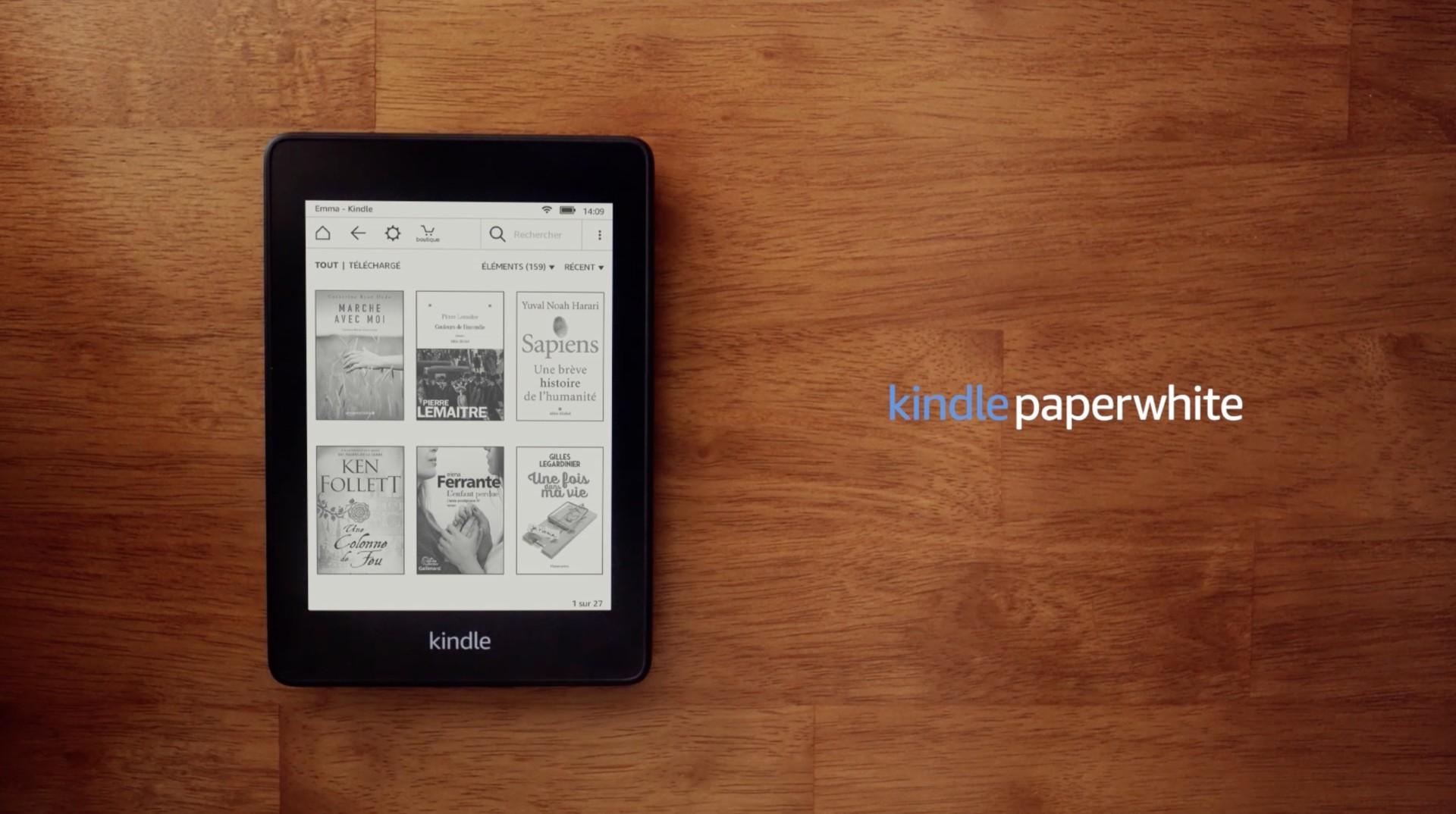Amazon Propose Un Kindle Paperwhite Resistant A L Eau