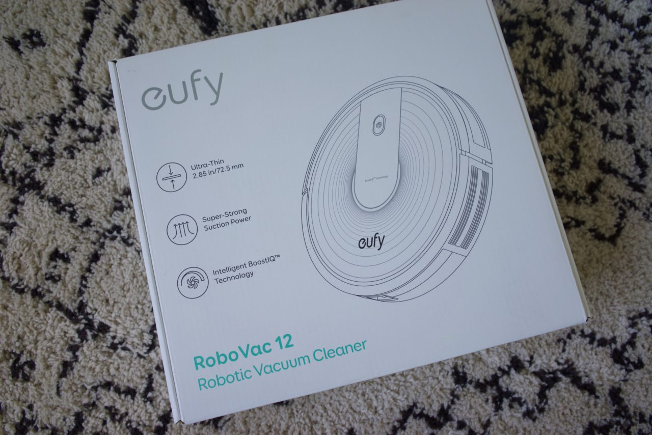 Eufy RoboVac 12 carton