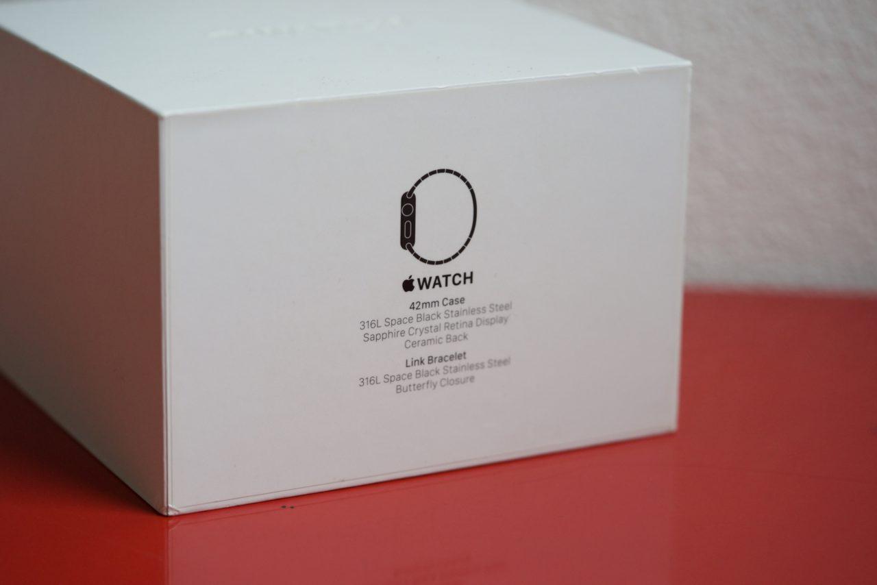 Apple Watch Series 1 acier 00004