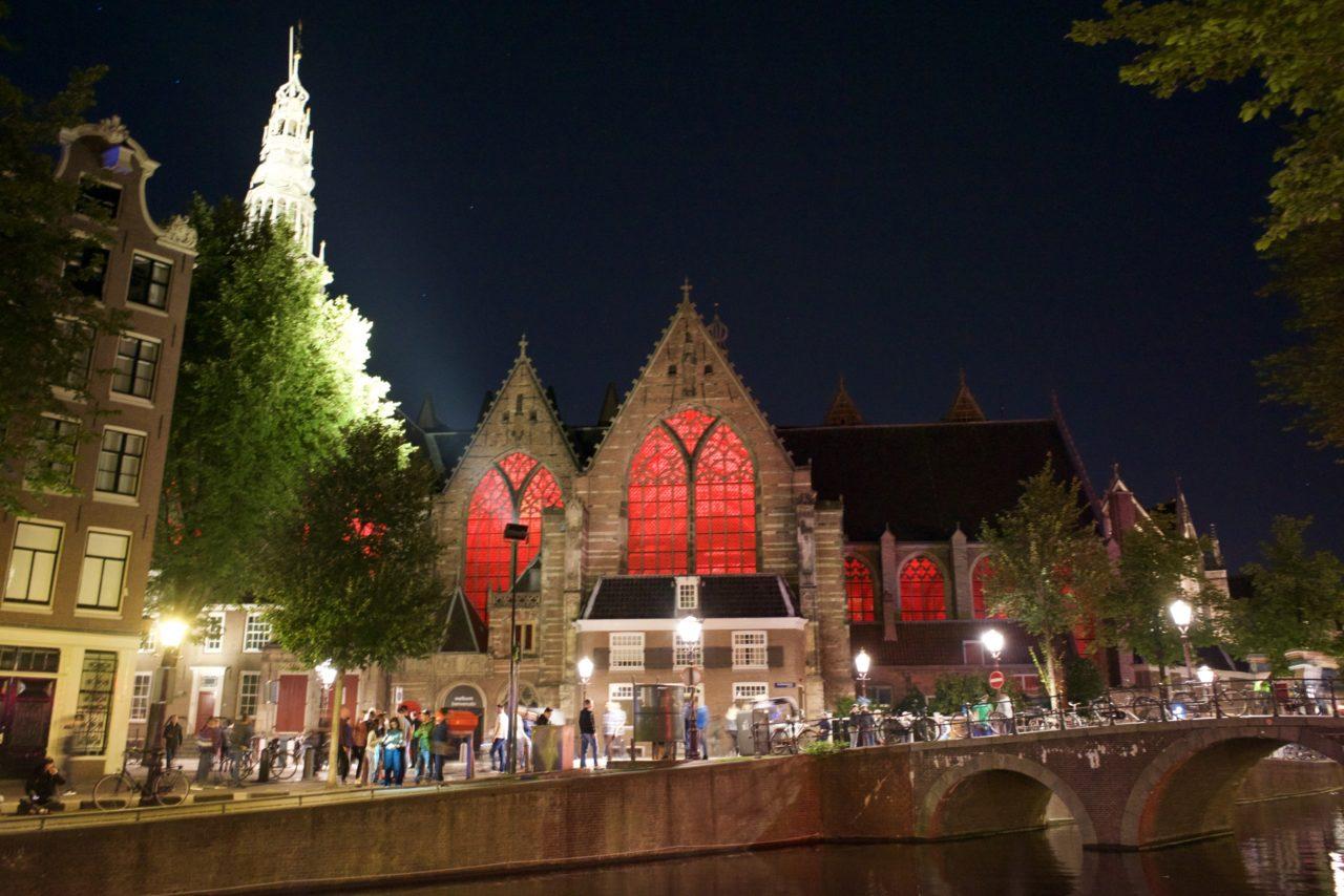 eglise rouge amsterdam