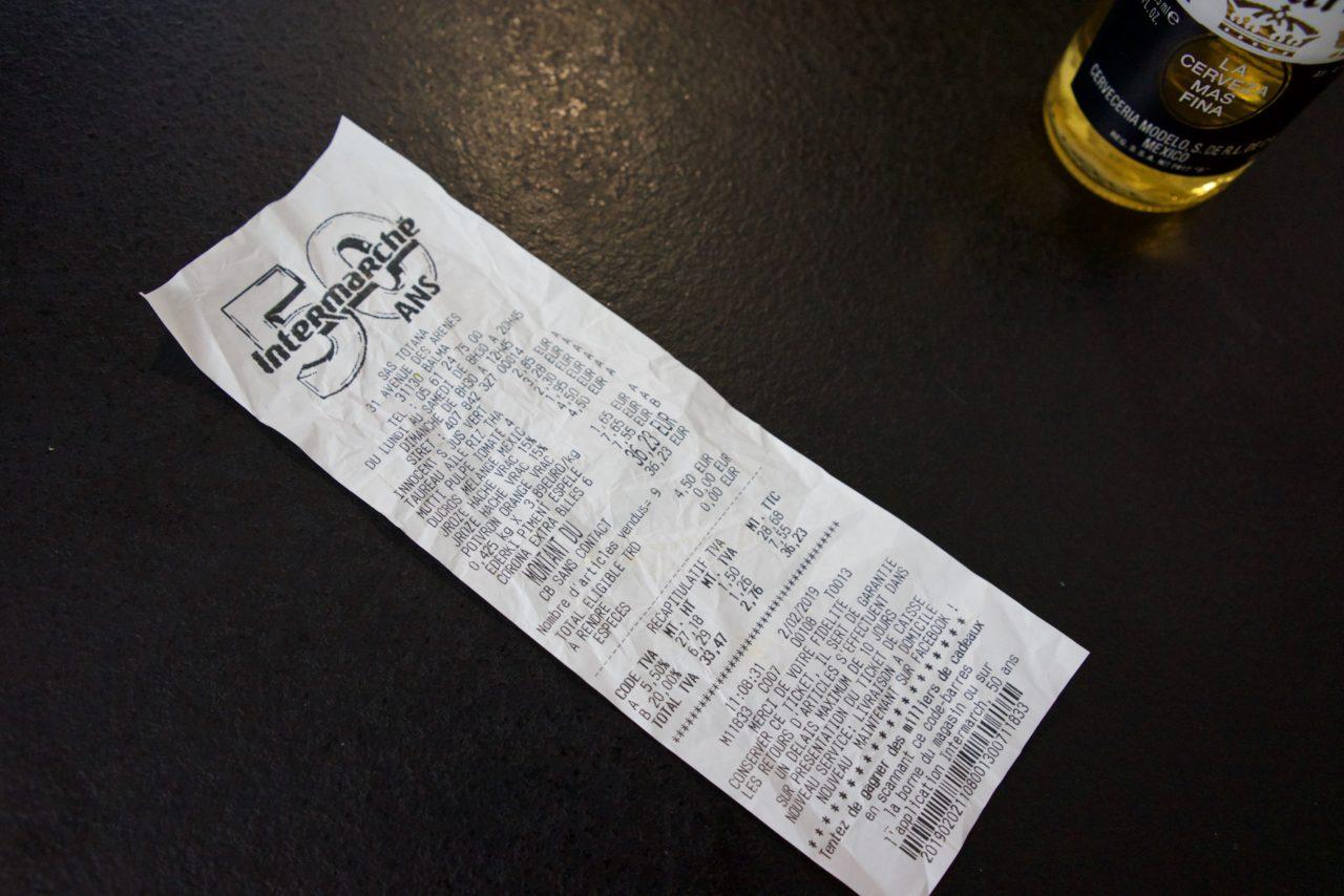 liste courses chili con carne