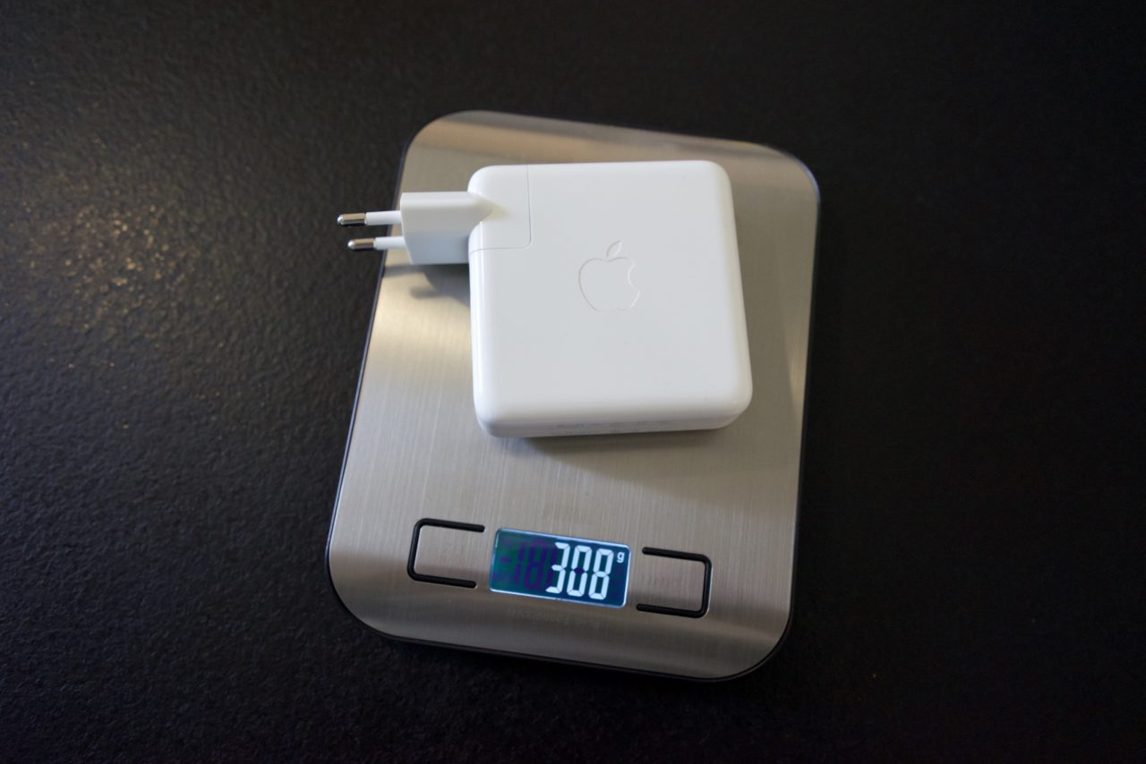 poids chargeur apple usb-c