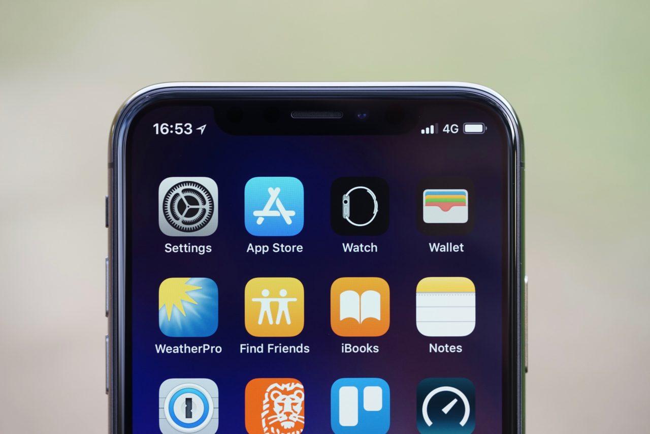 iphone x notch faceid