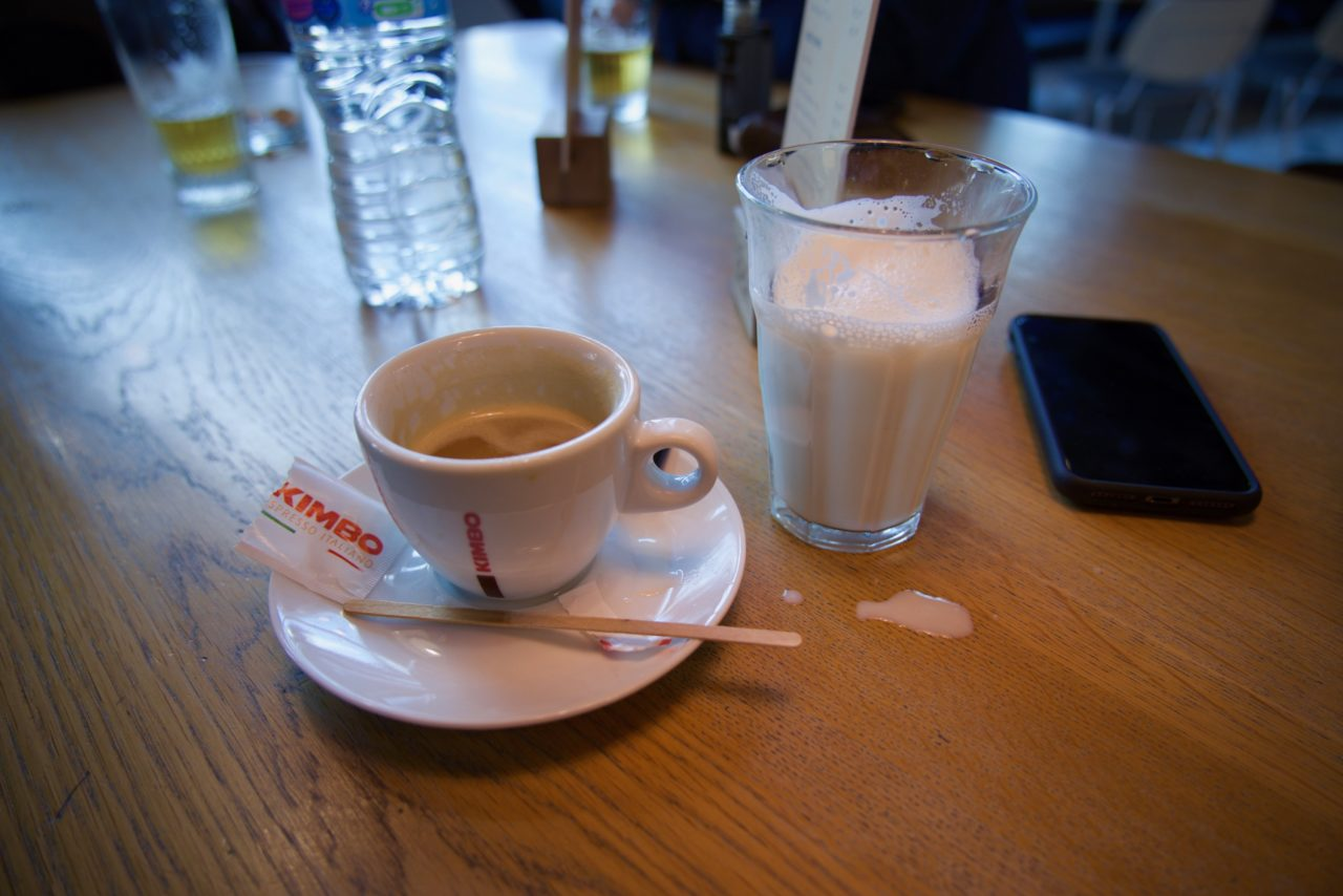 cafe au lait belge