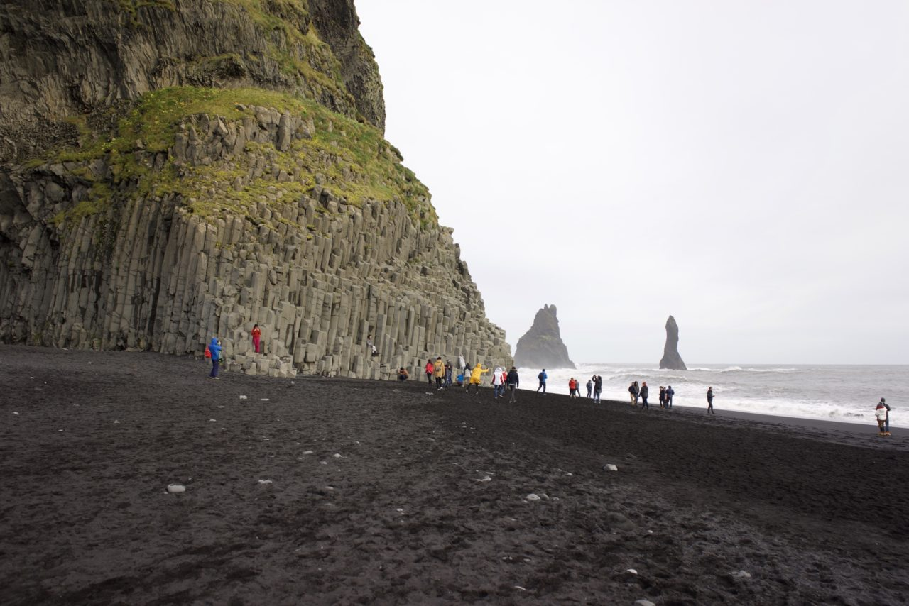 islande Reynisfjara plage
