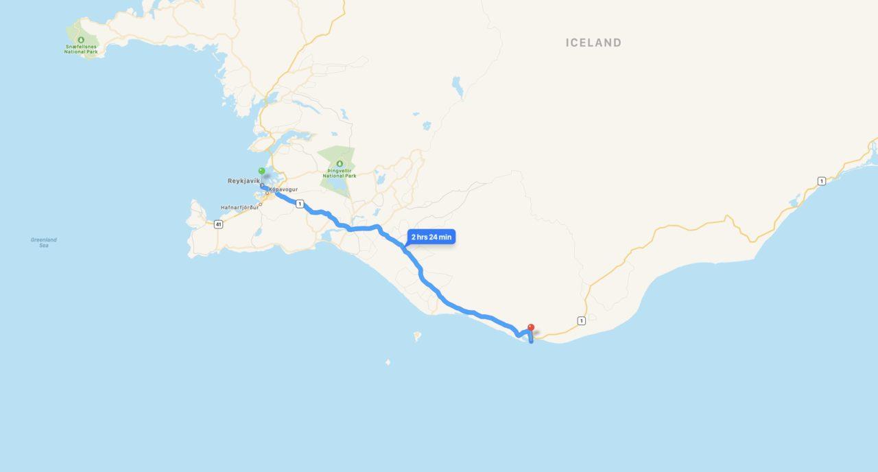 plan reykjavik Reynisfjara